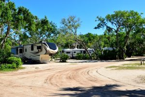 le camping Les abricotiers